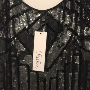 Parker Dresses - Parker Black Sequin Dress